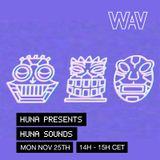 Huna pres. Huna Sounds at We Are Various | 25-11-19