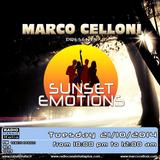 SUNSET EMOTIONS 110.2 (21/10/2014)