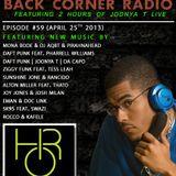 BACK CORNER RADIO: Episode #59 (April 25th 2013)