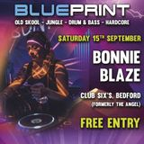 Bonnie Blaze's 94-96 Jungle set @ Blueprint Gravity's 40th Bday bash @ Club Six's Bedford 15/09/18