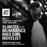 Slimzo's Sessions - Slimzee B2B Mumdance w/ Riko Dan and Novelist - 17th July 2014