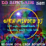 DJ SINCLAIR H58 open letter to ehlecktra OPEN MINDED DJ ultimate  Old Skool psytrance out of body rm