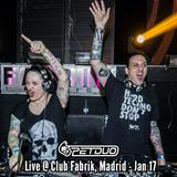 PETDuo @ XTREME : Una Noche de Hard Techno - Fabrik Madrid - 14.01.2017
