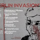 Karina Quanir techno meshup @ Berlin Invasion part VII (Sn. George/Berlin)