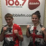 MMA Fighters Megan and Chris are representing the UK in Bahrain