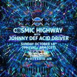 Cosmic Highway_18OCT2015 @ Pure Radio [Holland]