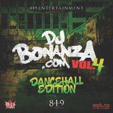 DJ BONANZA MIXTAPE VOLUME 4 DANCEHALL EDITION