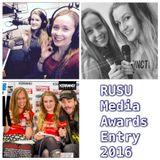 RUSU Media Award Entry 2016: Best Radio Content