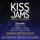 KISS JAMS MIXED BY DJ SWERVE 26APR15