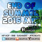 DJ Kapital Presents: End Of Summer 2016 Mix - Hip Hop, RnB, Bashment & Afrobeats