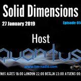 Quantus - Solid Dimensions 014 on TM Radio - 27-Jan-2019