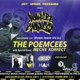 POWER MOVES LIVE @RAS HALL HOSTED BY: HEAD ROC FEAT MECHE KORRECT  DJ RBI  THUG NERDZ RECORDING....