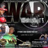 War Wednesdays@Hideaway Pub Miramar Florida 24.1.2018