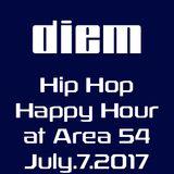 diem - hip hop happy hour at Area 54 7-7-17