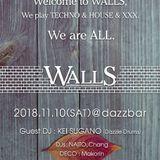 WALLS MIX 4 NAITO LIVE MIX for WALLS 181110