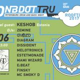 KESHOB – #DNBDOTTRU ROOFTOP 2017 warm up mix