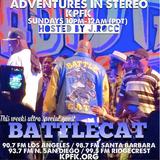 ADVENTURES IN STEREO w/ BATTLECAT