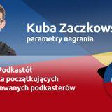 Parametry nagrania - Kuba Zaczkowski