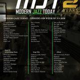 Modern Jazz Today Episode #109 Airing the Week of 3-5-2018