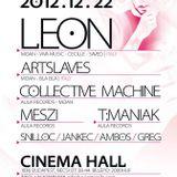 Collective Machine - Live @ Cinema Hall Budapest Aula & Moan Labels Showcase 2012.12.22.