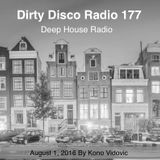 Dirty Disco Radio 177  -  Deep House Radio