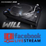 W!LL - Set Facebook Live Noviembre 2018