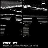 MODULAR EXPANSION PODCAST #063 | EMEX LIVE