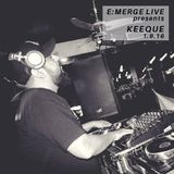 KeeQue - Live at E:Merge, Southtown 101, San Antonio, TX 1-9-16