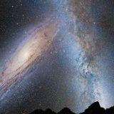 Vía Láctea y Andrómeda, choque de bestias- Mercurio Visitable?