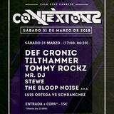 31.03.18 Tommy Rockz @ Connexions by Echa Bass, Sala Cine Carrizo, Leòn - Spain