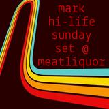 MEATliquor Sunday Set - June - Mark Hi-Life