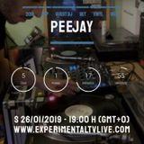 Peejay set - Break-House (vinyl) @ Experimental Tv Radio (26-01-2019)