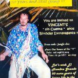 Vincent's Sin Cuenta anos Birthday Extravaganza Jungle Chic Panama Bocas del Toro 2014