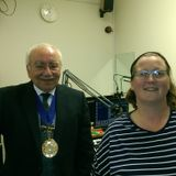 Helen chats to Gravesham Mayor
