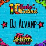 10° Aniversario sala latina Downtown Valetodo - DJ ALVAMP 2015