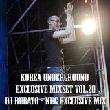 Korea Underground Exclusive Mixset Vol.20 DJ RUBATO
