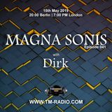 Dirk - Host Mix - MAGNA SONIS 041 (15th May 2019) on TM Radio