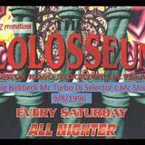 Colosseum Dj Craig birkbeck Mc Turbo Dj Selector C Mc Stompin 9/8/96