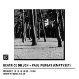 Beatrice Dillon & Paul Purgas (Emptyset) - 10th October 2016