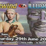 Stu Allan Rewind vs Illusion at Stax Nightclub June 2002