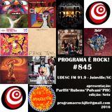 #845 Programa É Rock Jlle - UDESC FM 91.9 2016.17dez