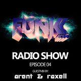 The Funkk Sound Radio Show Episode 04 feat. Arent & Raxell