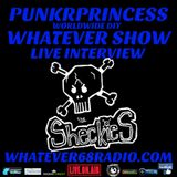 PunkrPrincess Whatever Show live interview with The Sheckies recorded live 2.21.2017@whatever68.com