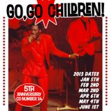 Go, Go Children Mix CD 14 - compiled by DJ Dean and John Stapleton, January 2013