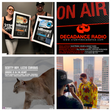 LIZZIE CURIOUS - DECADANCE RADIO - MARCH 2018