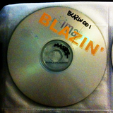 Promo CD-R for Blazin @ Jump Inn, Helsinki 2002