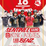 18th Anniversary Sentinel - Dubs Full Hundred Edition feat. Sentinel, King Addies & Fabi Benz 5.2017