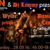 Dj Lemmy's (Damage Case) 30th ANNIVERSARY ZAKK WYLDE SHOW! (28-05-16)