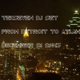 Form Detroit to Atlanta -  21/12/2012 - by DJ Tekseven