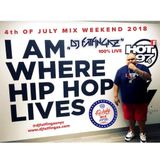 "DJ FATFINGAZ ""LIVE ON HOT 97"" 4TH OF JULY WEEKEND 2018"